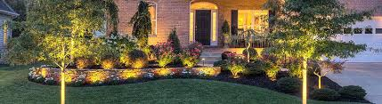 Low Voltage Led Landscape Lighting Landscape Lights Low Voltage Fence At Lit By Landscape