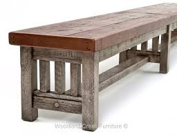 Rustic Bench Coffee Table Barnwood Bench Reclaimed Wood Bench Rustic Wood Bench