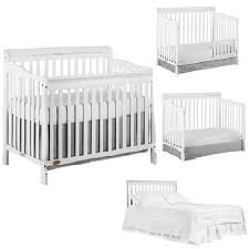 White Convertible Baby Crib Baby Cribs Walmart