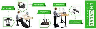 Convert Normal Desk To Standing Desk Amazon Com Uncaged Ergonomics Adjustable Height Computer Desk