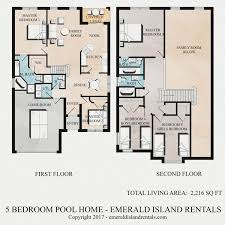 kitchen floor plan layout for home floor plan of emerald island orlando 5 bed villa stitch