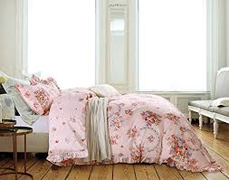 french country shabby chic ruffle duvet cover princess cotton