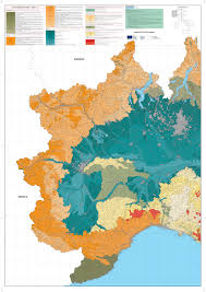 Campania Italy Map by Maps Of Carta Ecopedologica 1 250 0000