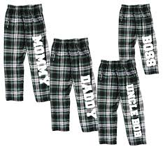 personalized family pajama pants for whole family input