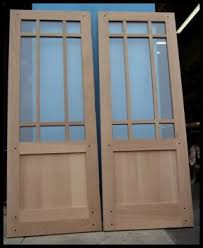 15 light french door heart of oak workshop authentic craftsman mission style doors