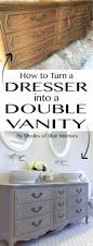 Used Double Vanity For Sale How To Turn A Dresser Into A Double Vanity Diy Your Home