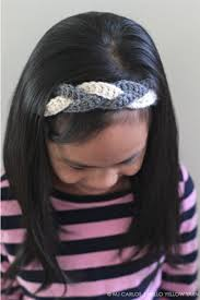 hello headband hold your hair back with a braided headband crochet pattern and