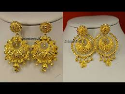 10 most beautiful gold earrings designs