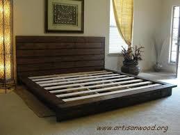 Build Platform Bed King by Diy King Platform Bed How To Build A King Size Platform Bed Apps