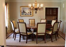 large round wood dining room table home office contempo large home interior dining room decoration