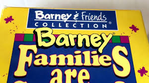 barney families are special video friends collection vhs movie