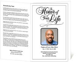 Funeral Ceremony Program Funeral Programs Funeral Handouts Programs For Funerals