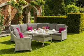 Outdoor Rattan Corner Sofa Norfolk Leisure Grey Queen Rattan Corner Sofa Set With Outdoor