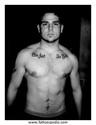 cross tattoos chest 5