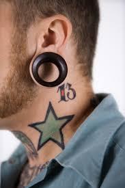 simple star tattoo design idea for men golfian com