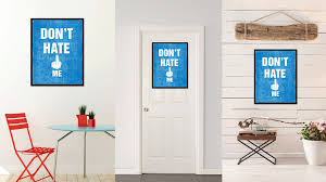 don t me funny sign quote saying typography bedroom wall art