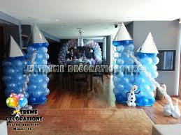 frozen decorations frozen party decorations balloon castle