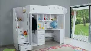 mezzanine bureau lit mezzanine armoire meilleur étonné lit mezzanine bureau fille