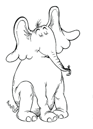 horton hatches egg coloring pages coloring