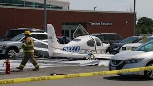 small plane crashes after landing at cape cod airport necn