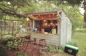 10 awesome cave ideas caves forget caves backyard bar sheds are the new trend