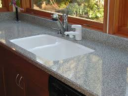 How To Clean White Porcelain Kitchen Sink Chic Rectangle White Porcelain Sink Kitchen Undermount With Grey