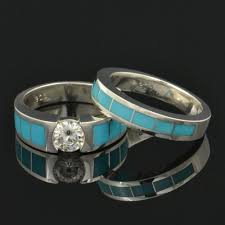 the cartel wedding band hileman silver jewelry turquoise wedding ring and moissanite