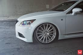 lexus ls460 vossen wheels supercars show u2014 lexus ls 460 on vfs2 by vossen wheels