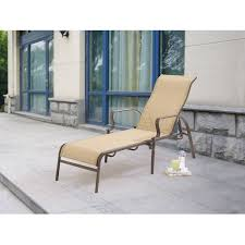 Lay Flat Lounge Chair Mainstays Wesley Creek Sling Chaise Lounge Walmart Com