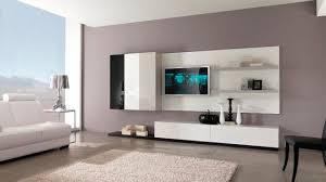 White Gloss Furniture Living Room Awesome Led Tv Cabinet Designs For Living Room With