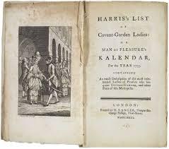 harris u0027s list of covent garden ladies wikipedia