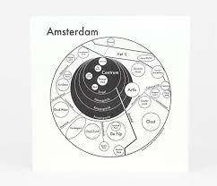 Map Of Amsterdam Archie U0027s Press Circle Map Of Amsterdam At Buyolympia Com
