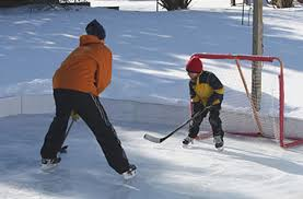 Best Backyard Hockey Rinks How To Build A Professional Skating Rink On A U201cdo It Yourself U201d Budget