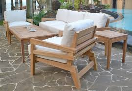 Outdoor Patio Dining Furniture Teak Outdoor Dining Table Patio Furniture Conversation Sets