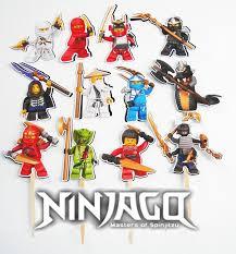 ninjago cake toppers 69 best cian 7 images on ninjago party lego ninjago