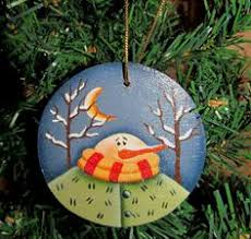 cat wood ornament painted made by paintingbyeileen