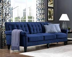 navy blue velvet sofa vintage velvet sofa kaliski co