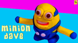 clay modelling ideas for making miniature minion dave kids clay