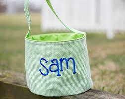 personalized easter egg baskets personalized easter etsy