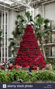 giant christmas tree inside the cascades atrium at the gaylord
