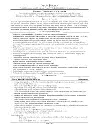 Sample Resume Objectives For Logistics by Logistics Manager Resume Cover Letter Transport And Logistics