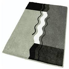 Bath Rug Gray Contemporary Bath Mats Other By Vita Futura - Designer bathroom rugs and mats