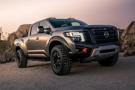 nissan titan hood scoop macho looking titan warrior concept is nissan u0027s answer to the ford