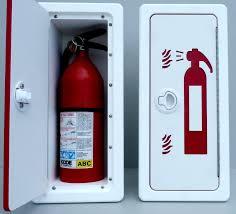 Marine Storage Cabinets King Starboardfire Extinguisher Storage With Graphics 18 75x8 5x6