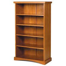 solid wood bookcase solid wood pine ridge bookshelf 4118 wcfs