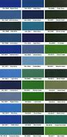 ral color deck custom cette colors 162 dupont ral choices markilux