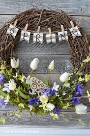 springtime wreaths greet your guests with a springtime wreath for your front door