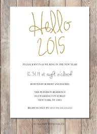 Happy New Year Invitation Https Www Etsy Com Listing 207379171 New Years Eve Party