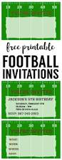football party invitation template free printable paper trail