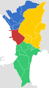 Map Of Metro by File Districts Of Metro Manila Svg Wikimedia Commons